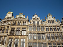 Grand Place of Brussels Stock Photos