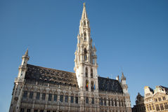 Grand Place of Brussels Royalty Free Stock Image