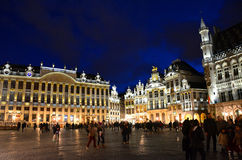 Grand Place Brussels Royalty Free Stock Images