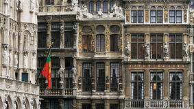 Grand place in Brussels, Belgium Royalty Free Stock Image