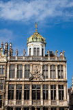 Grand Place in Brussels Belgium Stock Images