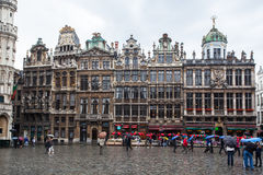 Grand Place Brussels Belgium Royalty Free Stock Photo