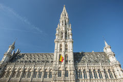 Grand Place in Brussels, Belgium Stock Images