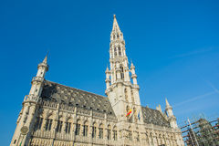 Grand Place in Brussels, Belgium Royalty Free Stock Photography