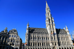 The Grand Place in Brussels. Belgium Stock Image