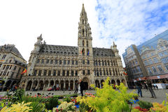 Grand Place in Brussels, Belgium Stock Photos