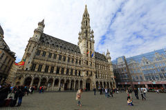Grand Place in Brussels, Belgium Stock Image