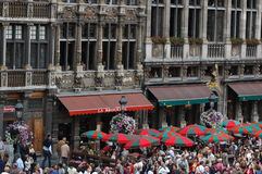 The Grand Place in Brussels, Belgium Royalty Free Stock Images
