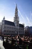 Grand-Place, Brussels, Belgium Royalty Free Stock Images