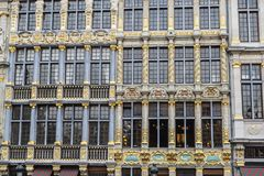 Grand Place in Brussels, Belgium Royalty Free Stock Images