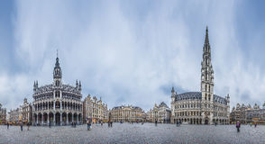 The Grand Place in Brussels, Belgium. Royalty Free Stock Photo