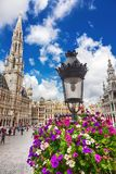 The Grand Place in Brussels. Belgium royalty free stock photos