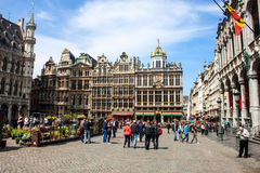 Grand Place, Brussels Royalty Free Stock Image