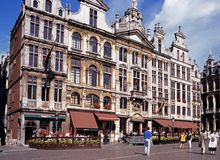 Grand Place, Brussels. Stock Photos
