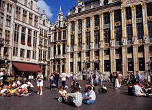 Grand Place, Brussels. Stock Images