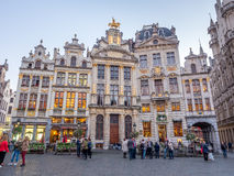 Grand place in Brussels in twilight Royalty Free Stock Photography