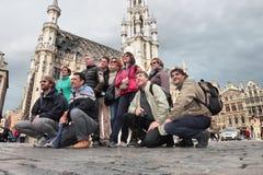 Grand Place, Bruxelles Fotografia Stock Libera da Diritti