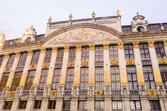 Grand Place Bruxelles Europa Fotografia Stock Libera da Diritti
