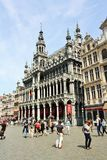 Grand Place Bryssel (Belgien) Arkivbild