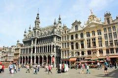 Grand Place Bryssel (Belgien) Fotografering för Bildbyråer