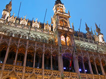 Grand Place Buildings, Brussels Royalty Free Stock Photos