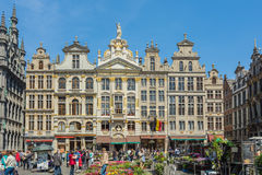 Grand Place is the city center of Brussels Royalty Free Stock Photo