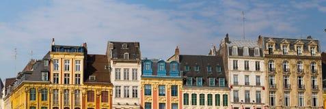 Grand Place dans des Frances de Lille Images libres de droits