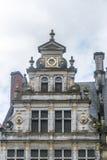 Grand Place de Tournai en Bélgica Imágenes de archivo libres de regalías