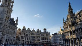 Grand Place em Bruxelas Fotografia de Stock Royalty Free