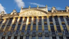 Grand Place em Bruxelas Imagens de Stock Royalty Free