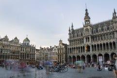 Grand Place em Bruxelas Imagens de Stock