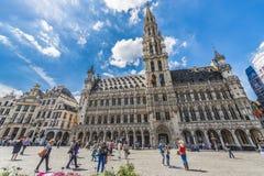 Grand Place en Bruselas, Bélgica Imagen de archivo libre de regalías
