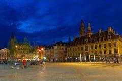 Grand Place en Lille imagen de archivo libre de regalías