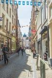 Grand Place est le centre de la ville de Bruxelles Images stock