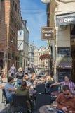 Grand Place est le centre de la ville de Bruxelles Photos stock