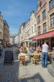 Grand Place est le centre de la ville de Bruxelles Photographie stock libre de droits