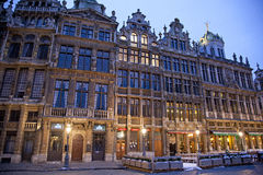 Grand place - famous square in Brussels royalty free stock photo