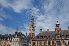 Grand Place General de Gaulle in Lille Royalty Free Stock Image