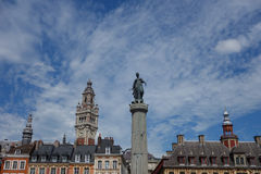 Grand Place General de Gaulle in Lille Royalty Free Stock Photo