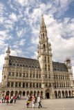 Grand Place or Grote Markt in Brussels Stock Images