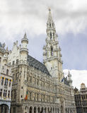 Grand Place and Grote Markt in Brussels Stock Photo