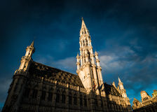 Grand Place and Grote Markt, Brussels Stock Images