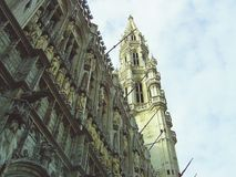 Grand place. Or grote markt in Brussels, Belgium Royalty Free Stock Image