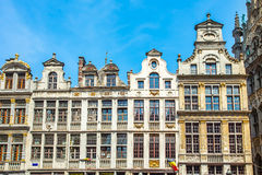 Grand Place (Grote Markt) in Brussels, Belgium Royalty Free Stock Photos