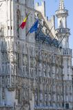 Grand Place Grote Markt in Brussels, Belgium 2018 royalty free stock photography