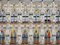 Grand Place in Leuven, Belgium Royalty Free Stock Photography
