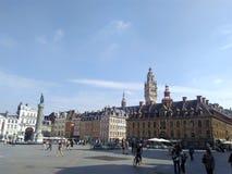 Grand Place Lille fotografie stock libere da diritti