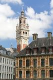 Grand Place Lille. The Grand Place of Lille in France royalty free stock photos