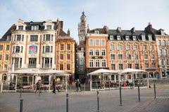 Grand Place, Lille, Frankreich Lizenzfreies Stockbild