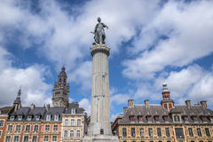 Grand Place in Lille Royalty Free Stock Photo